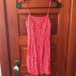 Aeropostale Red Floral Dress